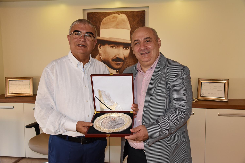 Briç Federasyonu'ndan Başkan Baysan'a Ziyaret